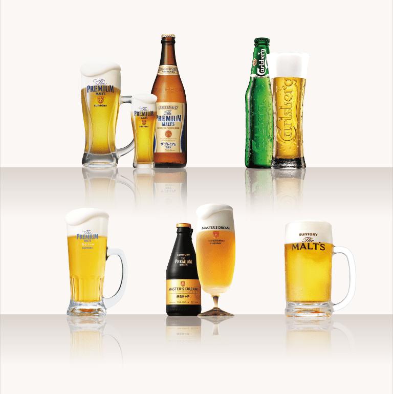 5種のビールが飲み放題